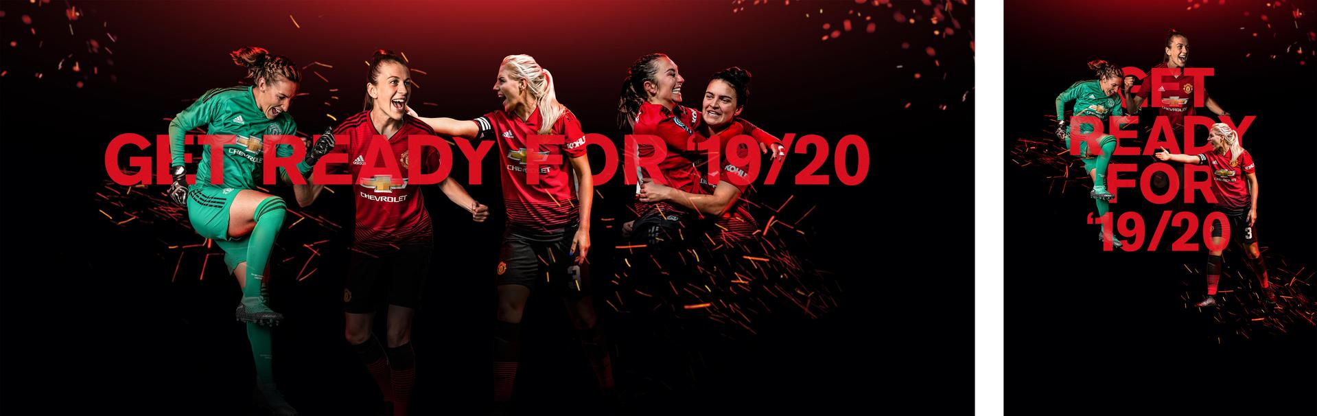 Manchester United Women promotional image